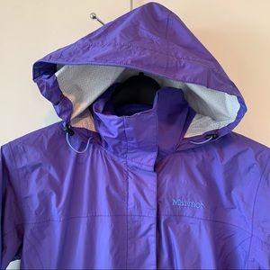 Marmot lavender Rain windbreaker jacket sz S